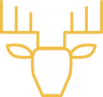 icon of deer